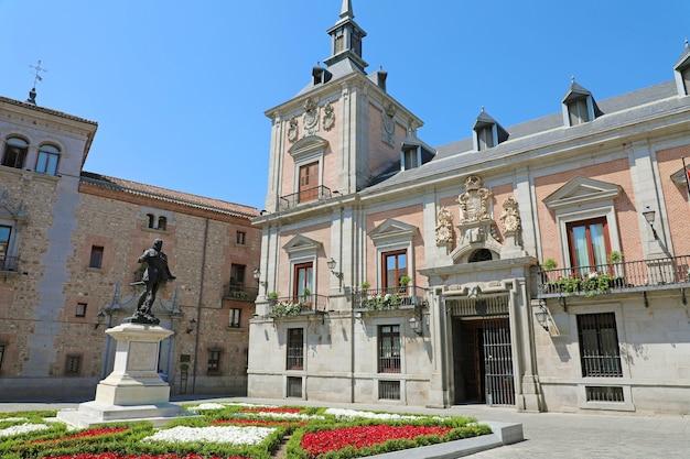 Palace of casa de la villa de madrid