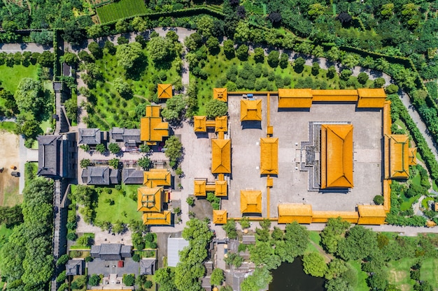 The palace in china