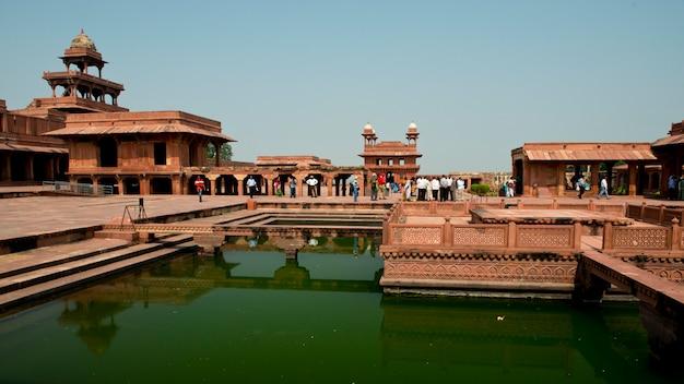 Palace in fatehpur sikri
