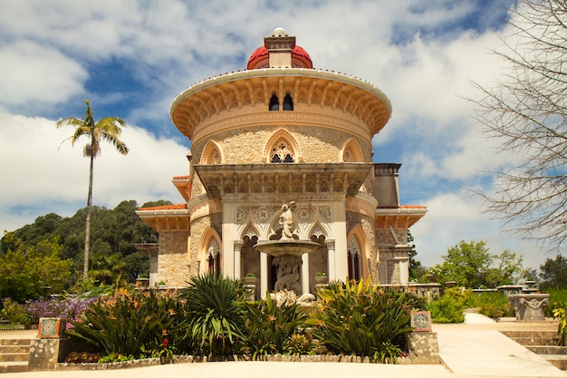 Palace monserrate in sintra, portugal