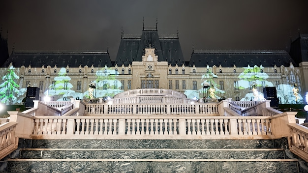 Дворец культуры в яссах, румыния