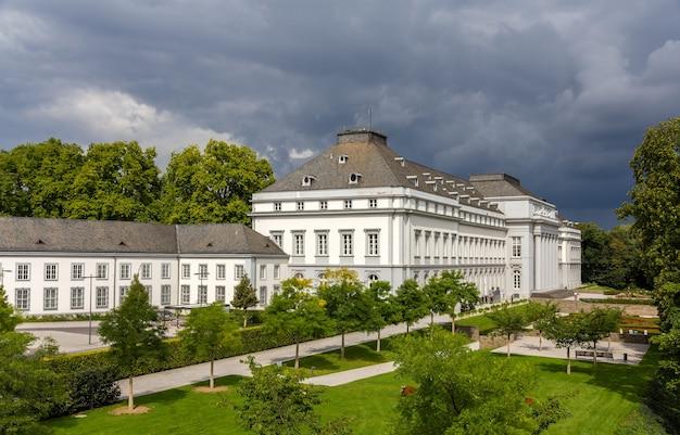 ドイツ、コブレンツのトリーアの選帝侯の宮殿