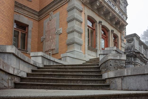 궁전 계단, 돌 계단, 궁전 외관