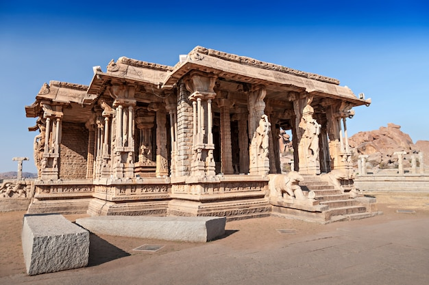 Palace at vittala temple
