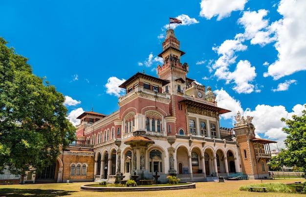 Palacio das industrias science museum in sao paulo