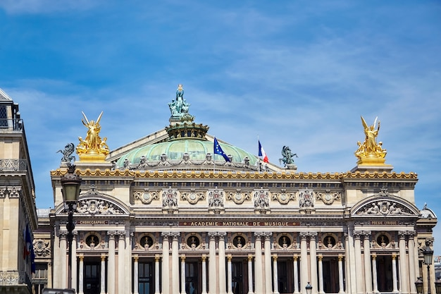 Palais or opera garnier in paris france