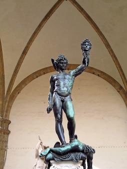 Палаццо веккьо во флоренции, италия