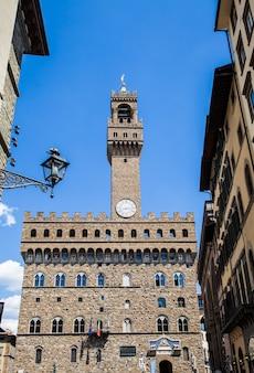 The palazzo vecchio  (
