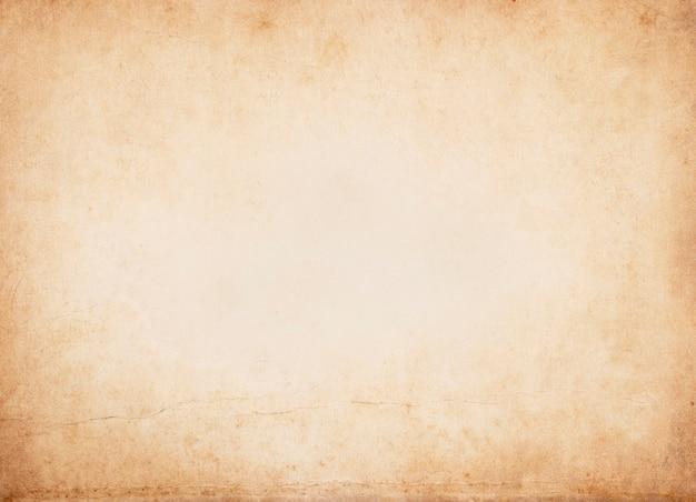 淡い茶色のヴィンテージ紙の質感の背景、紙のユニークなデザインと水平のクラフト紙、柔らかな天然紙のスタイル美的創造的なデザインのために