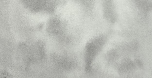 Бледно-серая пастельная нейтральная акварельная текстура абстрактный окрашенный фон
