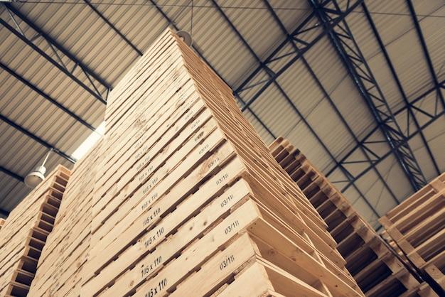 パレット木材業界では並び順が高い