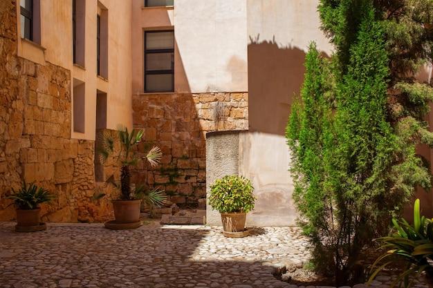 스페인의 팔마 데 마요르카 건축