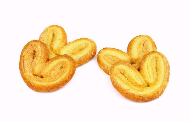 パルミエ。象の耳。パイ生地のクッキー