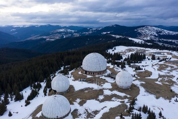 «памир» - сверхсекретная армейская станция дальнего обнаружения авиационных ракет нато. в карпатах, на границе с румынией