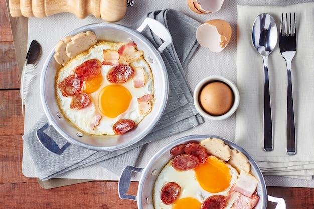 Pan fried egg