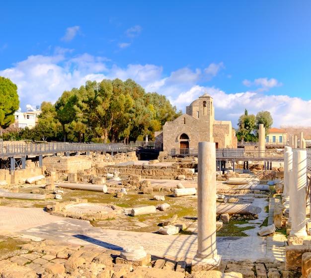 Panagia chrysopolitissa basilica in cyprus