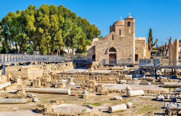 파 포스-키프로스에있는 panagia chrysopolitissa 대성당