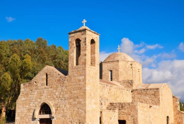 Panagia chrysopolitissa basilica in paphos, cyprus