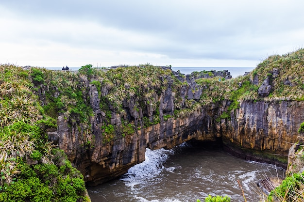 Pancake rocks 뉴질랜드 남섬