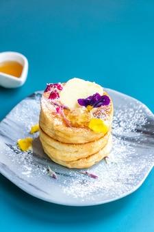 蜂蜜とバターのパンケーキ