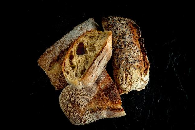 Panes bread breakfast panaderia