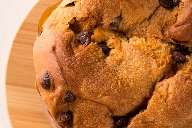Панеттоне - традиционный итальянский десерт на рождество. chocotone.