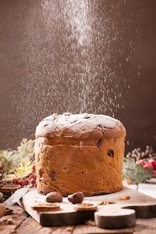 パネトーネイタリアンクリスマスケーキ