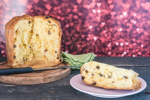 Panettone  typical dessert
