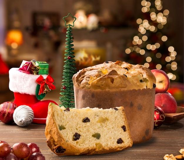 Panettone - традиционный итальянский десерт на рождество