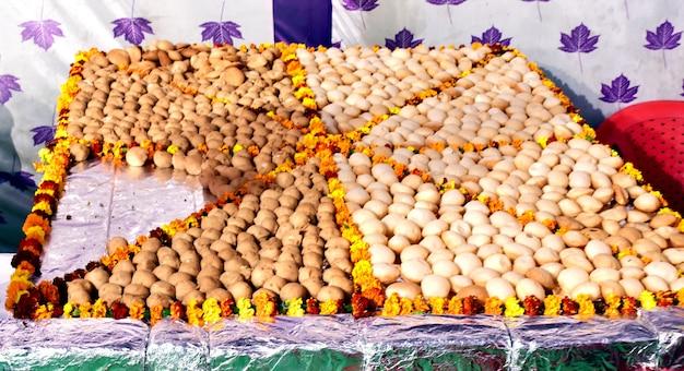 Pani puri, golgappe, 채팅 항목, 인도