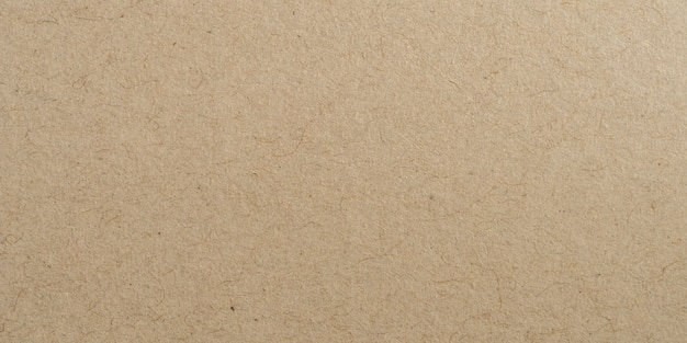 Panorama brown paper surface texture and background with copy space.
