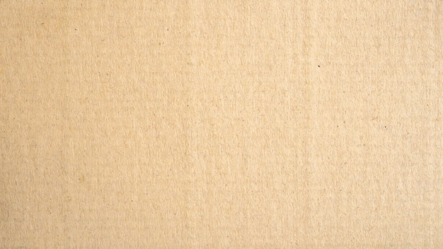 Panorama brown paper surface texture and background