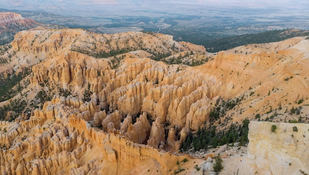 Panorama on bryce canyon national park, utah, united states