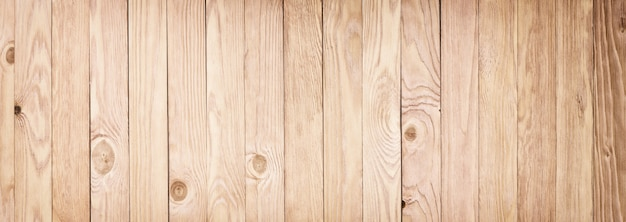 Panorama of light wooden texture. desktop background