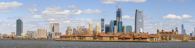 Panorama of new york cityscape