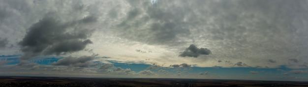 우울한 하늘의 파노라마