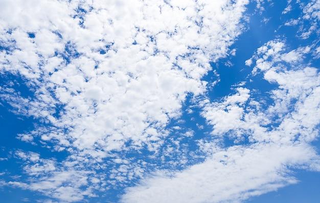 Панорама дневного облачного неба