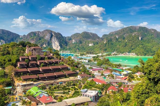 ピピドン島、タイのパノラマ