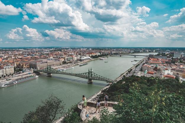 부다페스트, 헝가리에서 파노라마보기