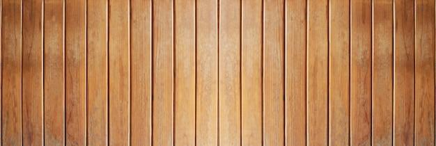 あなたの仕事の背景の概念のデザインのための板の背景のパノラマヴィンテージ木の板。