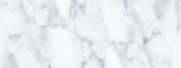 Panorama white marble stone texture for background or luxurious tiles floor and wallpaper decorative design.