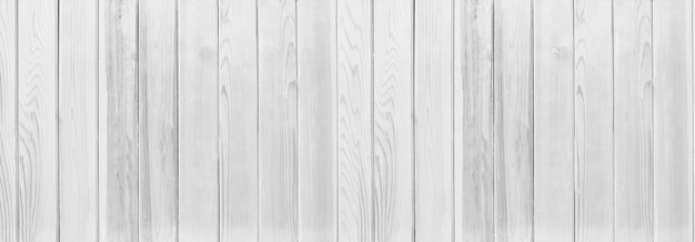 Panorama white wood texture background,walls of the interior for design.