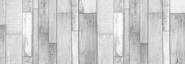 Panorama white wood texture Premium Photo