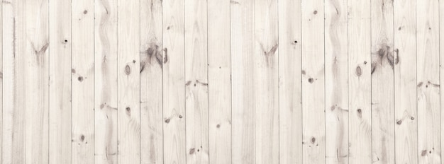 Panorama white wood texture