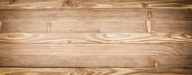 파노라마 나무 배경입니다. 가벼운 나무 질감 클로즈업입니다. 판자 테이블 또는 바닥