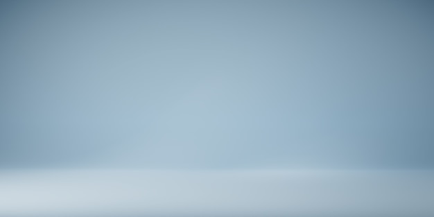 Panoramic light blue wall background