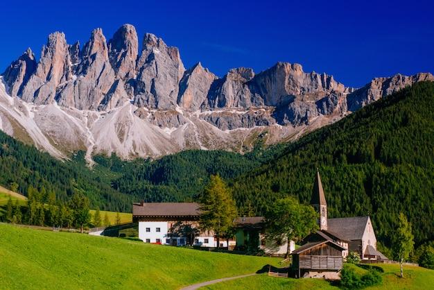 Panoramic view of idyllic summer
