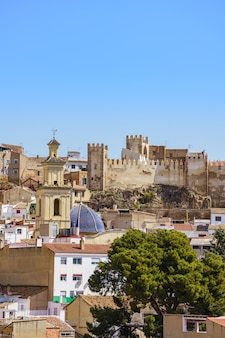 스페인 발렌시아 성곽의 전경