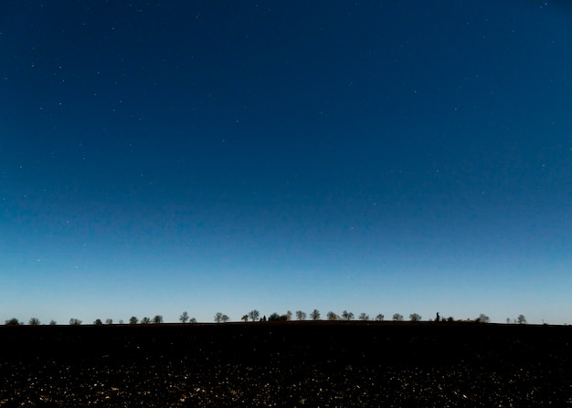 Панорамный вид на закат