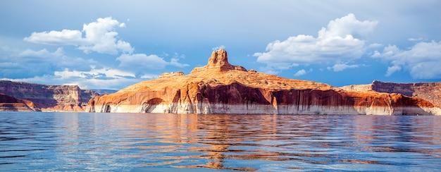 파월 호수, 페이지, 미국에서 파노라마보기